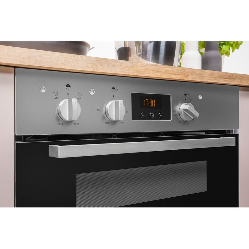 Indesit-Double-oven-IDU-6340-IX-Inox-B-Control-panel
