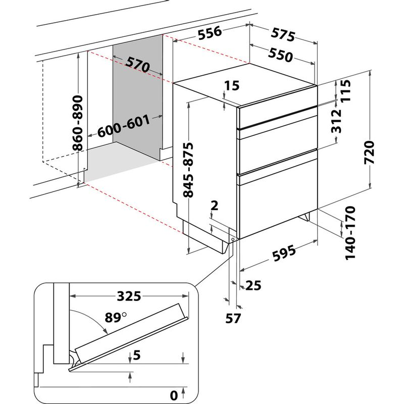 Indesit-Double-oven-IDU-6340-IX-Inox-B-Technical-drawing