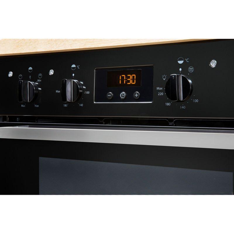 Indesit-Double-oven-IDU-6340-BL-Black-B-Lifestyle-control-panel