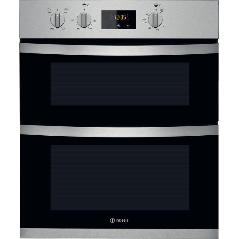 Indesit-Double-oven-KDU-3340-IX-Inox-B-Frontal
