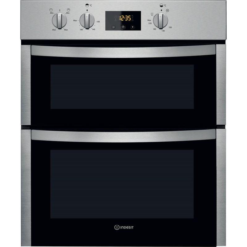 Indesit-Double-oven-DDU-5340-C-IX-Inox-B-Frontal