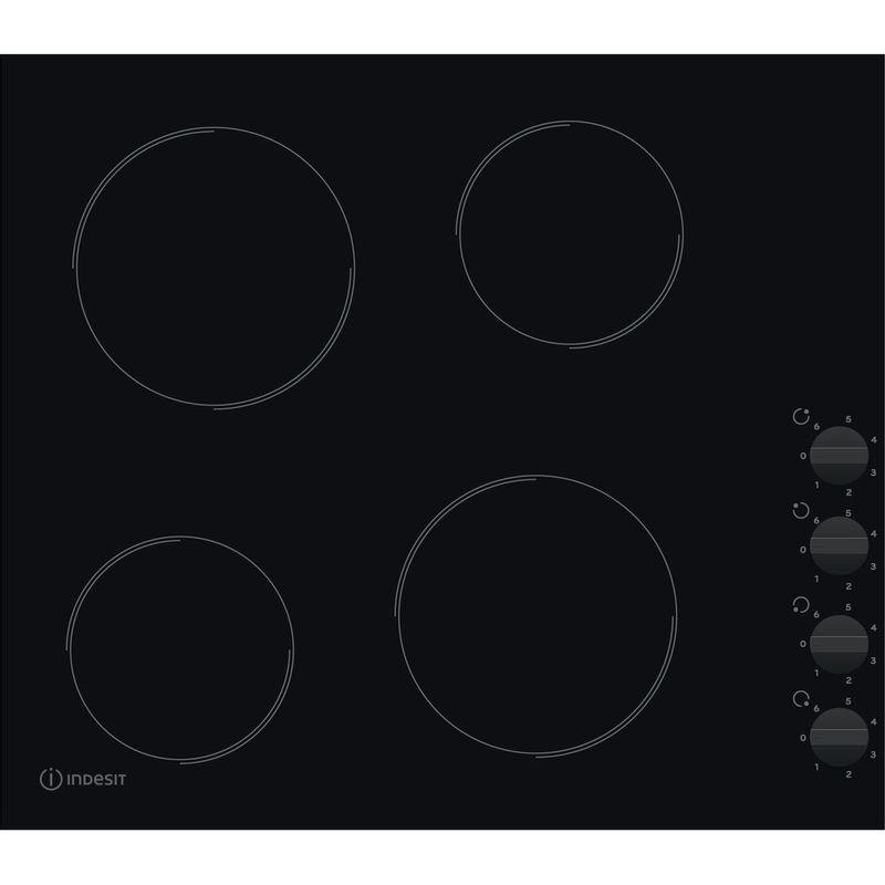 Indesit-HOB-RI-860-C-Black-Radiant-vitroceramic-Frontal