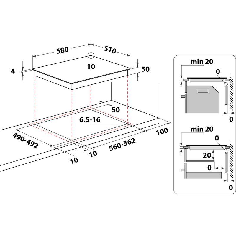 Indesit-HOB-RI-860-C-Black-Radiant-vitroceramic-Technical-drawing