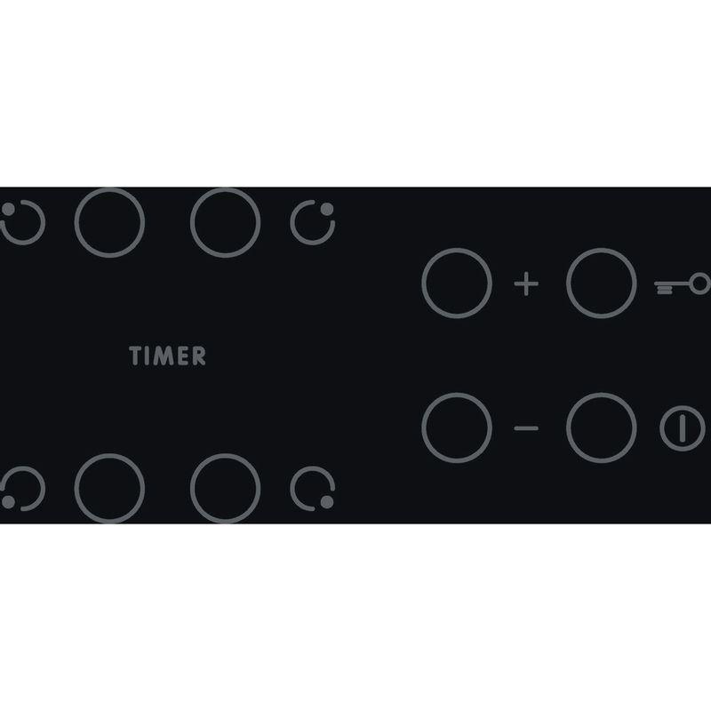 Indesit-HOB-AAR-160-C-Black-Radiant-vitroceramic-Control-panel