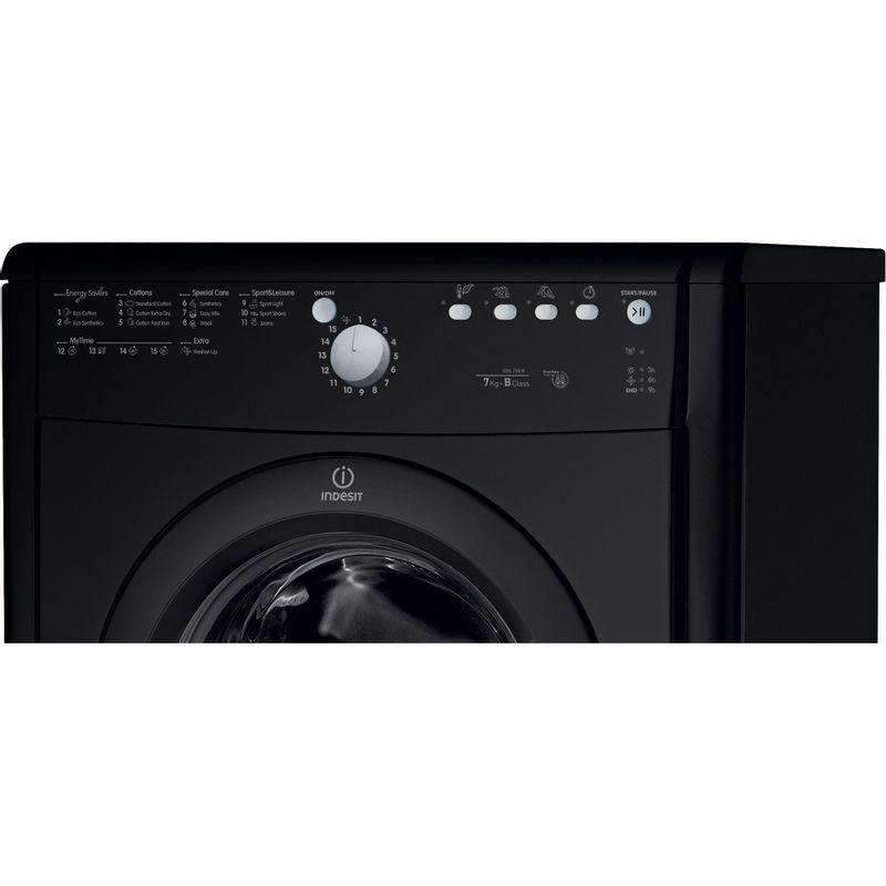 Indesit-Dryer-IDVL-75-BRK.9-UK-Black-Control_Panel