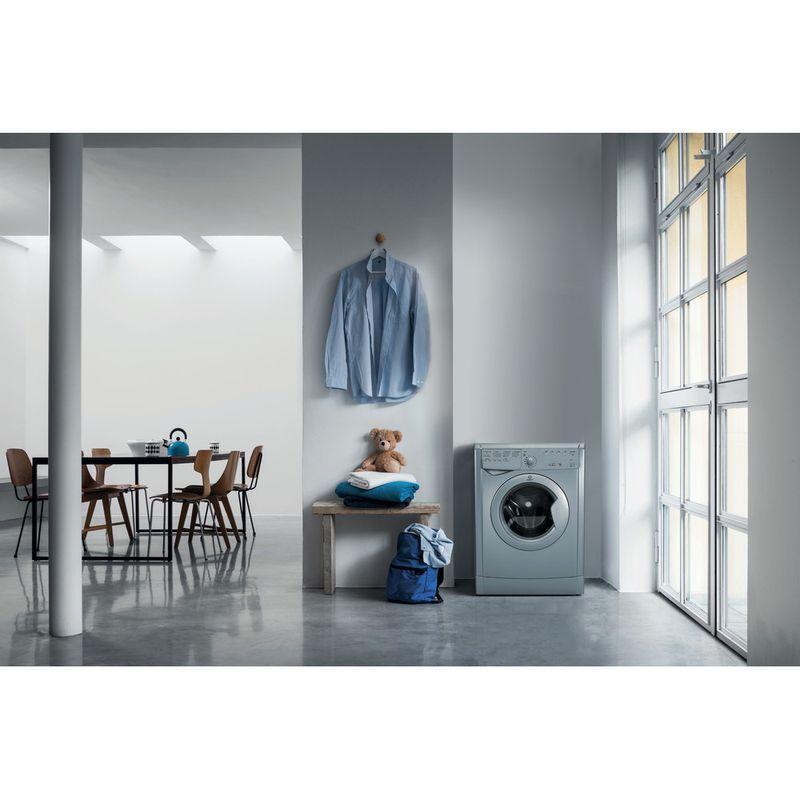 Indesit-Dryer-IDVL-75-BRS.9-UK-Silver-Lifestyle-frontal