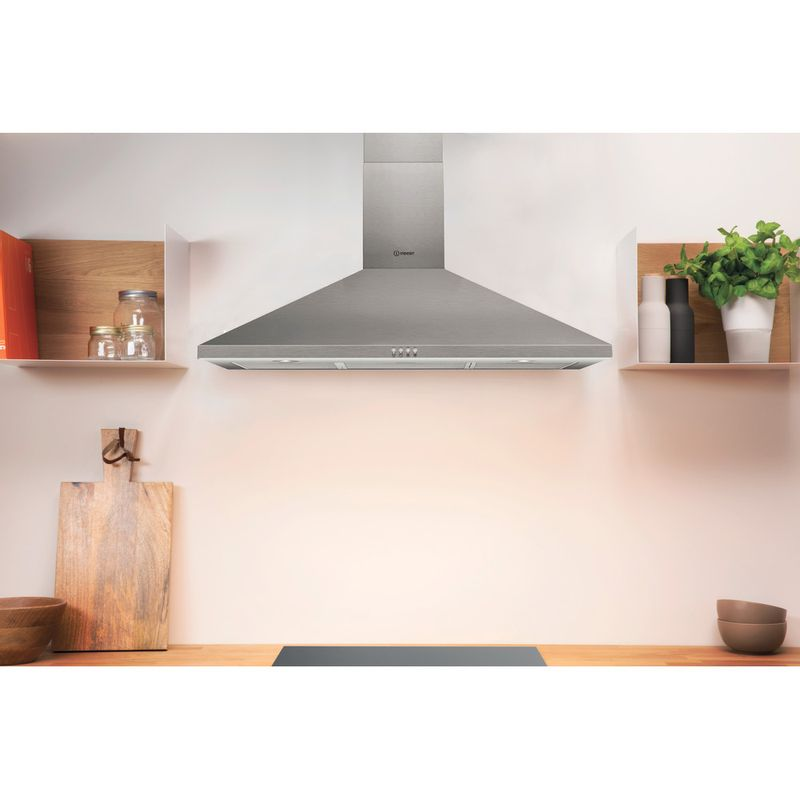Indesit-HOOD-Built-in-IHPC-9.4-LM-X-Inox-Wall-mounted-Mechanical-Lifestyle-frontal