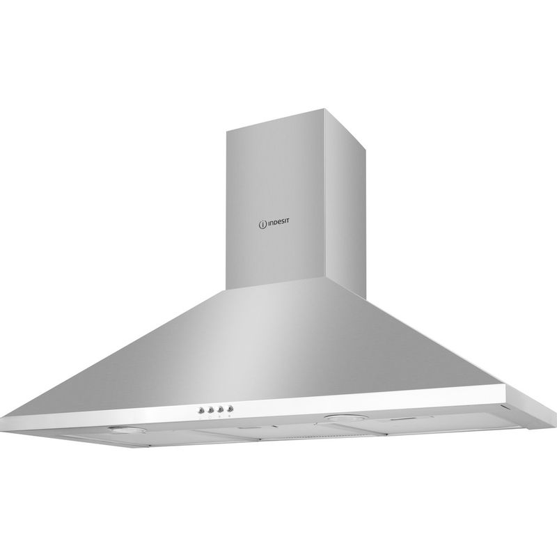 Indesit-HOOD-Built-in-IHPC-9.5-LM-X-Inox-Wall-mounted-Mechanical-Perspective