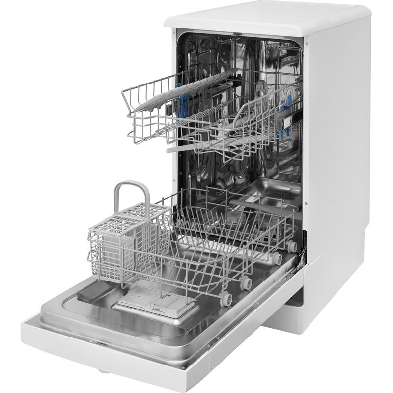 Indesit-Dishwasher-Free-standing-DSFE-1B19-C-UK-Free-standing-A--Perspective-open