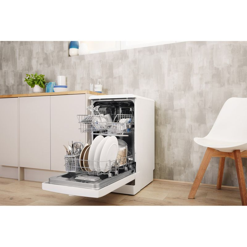 Indesit-Dishwasher-Free-standing-DSFE-1B19-C-UK-Free-standing-A--Lifestyle-perspective-open