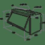 Indesit-HOOD-Built-in-IAEINT-66-LS-GR-Grey-Built-in-Mechanical-Technical-drawing