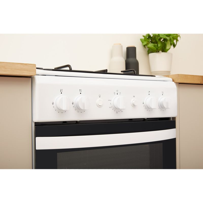 Indesit-Cooker-IS5G1KMW-U-White-GAS-Lifestyle-control-panel