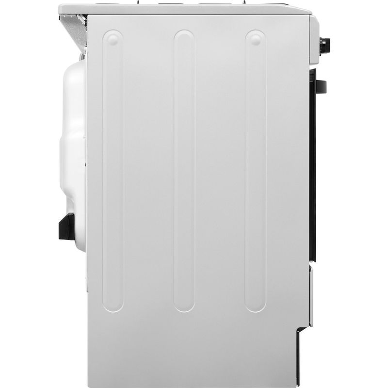 Indesit-Cooker-IS5G4PHSS-UK-Inox-GAS-Back---Lateral