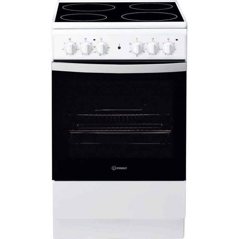 Indesit-Cooker-IS5V4KHW-UK-White-Electrical-Frontal