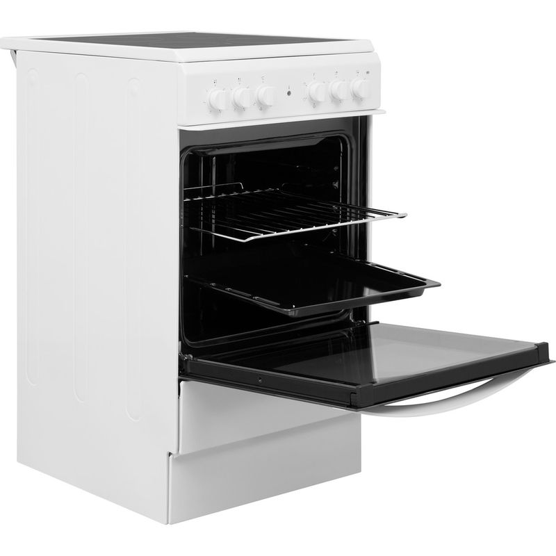 Indesit-Cooker-IS5V4KHW-UK-White-Electrical-Perspective-open
