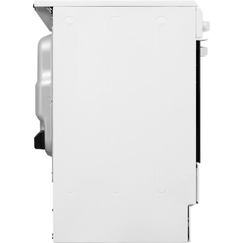 Indesit-Cooker-IS5V4KHW-UK-White-Electrical-Back---Lateral