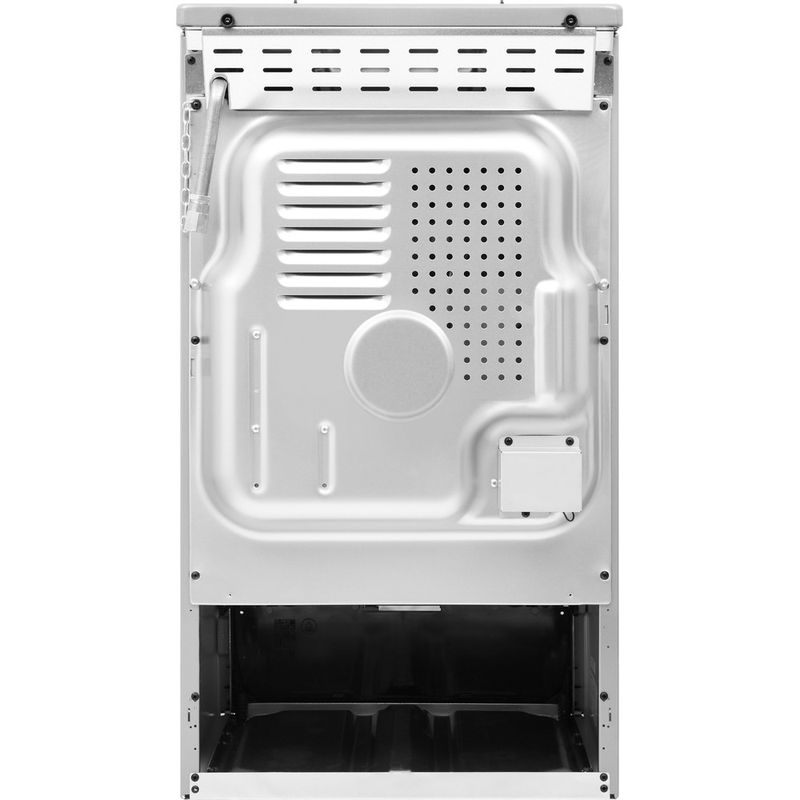 Indesit-Cooker-IS5G1PMSS-UK-Silver-painted-GAS-Back---Lateral