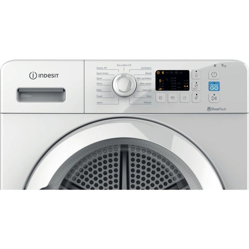Indesit-Dryer-YT-M10-71-R-UK-White-Control-panel