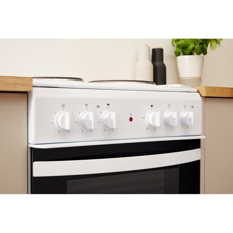 Indesit-Double-Cooker-ID5E92KMW-UK-White-A-Enamelled-Sheetmetal-Lifestyle-control-panel