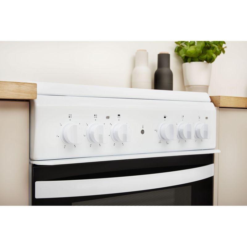 Indesit-Double-Cooker-ID5V92KMW-UK-White-A-Vitroceramic-Lifestyle-control-panel