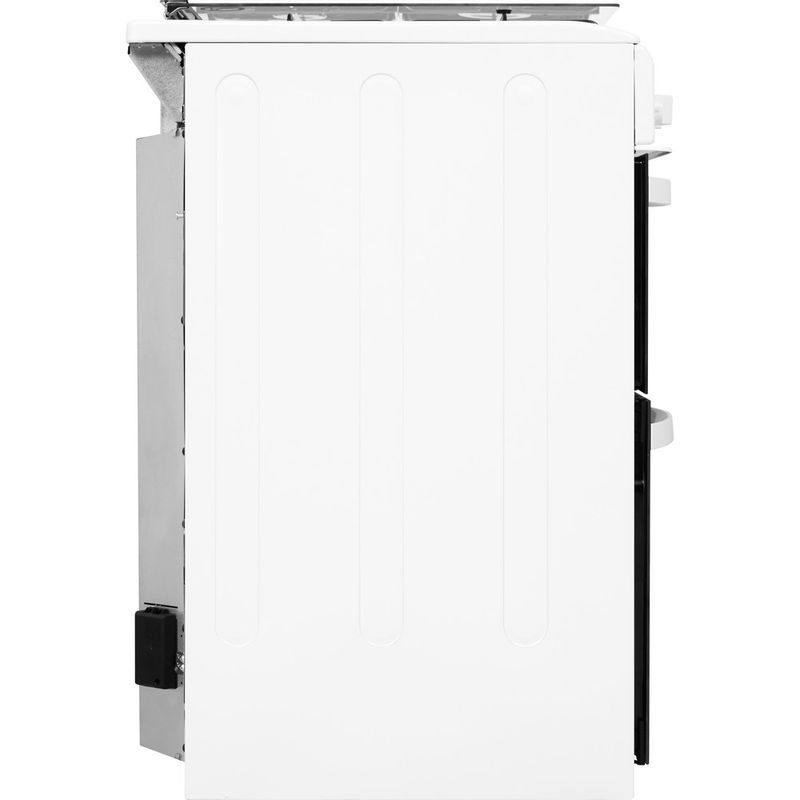 Indesit-Double-Cooker-ID5G00KMW-UK--L-White-A--Enamelled-Sheetmetal-Back---Lateral