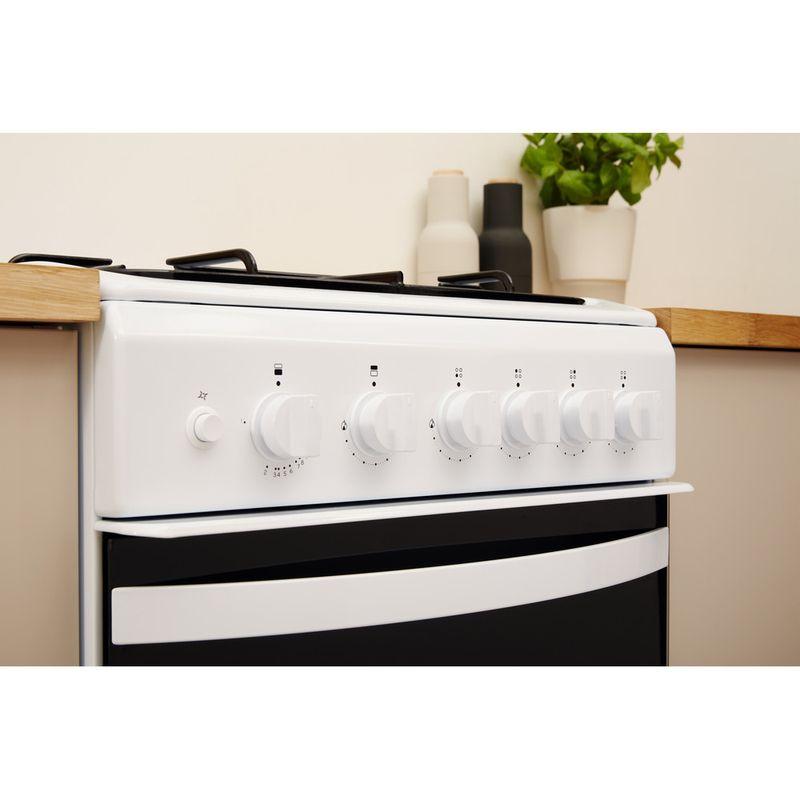 Indesit-Double-Cooker-ID5G00KMW-UK-White-A--Enamelled-Sheetmetal-Lifestyle-control-panel