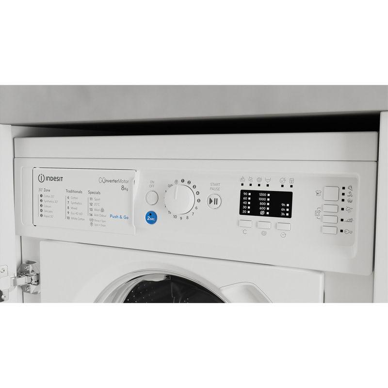 Indesit-Washing-machine-Built-in-BI-WMIL-81284-UK-White-Front-loader-C-Control-panel