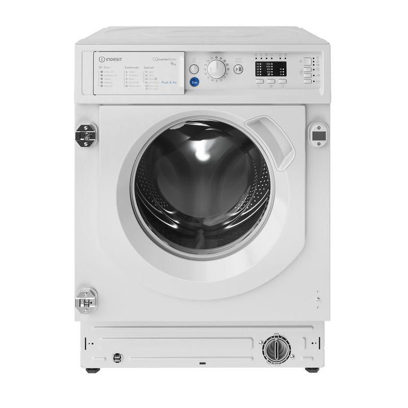 Indesit-Washing-machine-Built-in-BI-WMIL-91484-UK-White-Front-loader-C-Frontal
