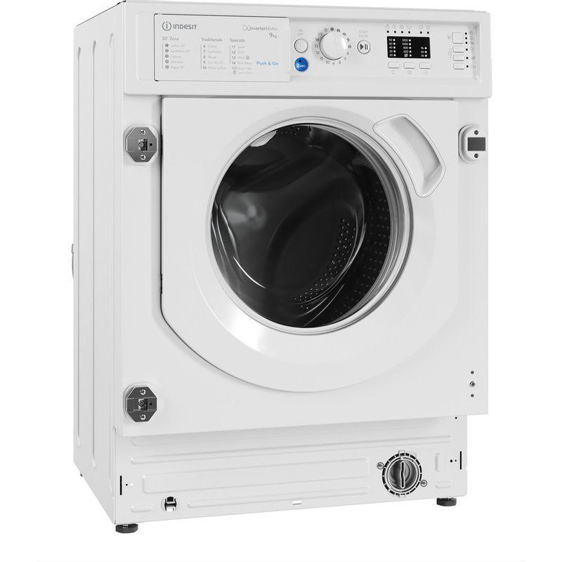 Indesit-Washing-machine-Built-in-BI-WMIL-91484-UK-White-Front-loader-C-Perspective