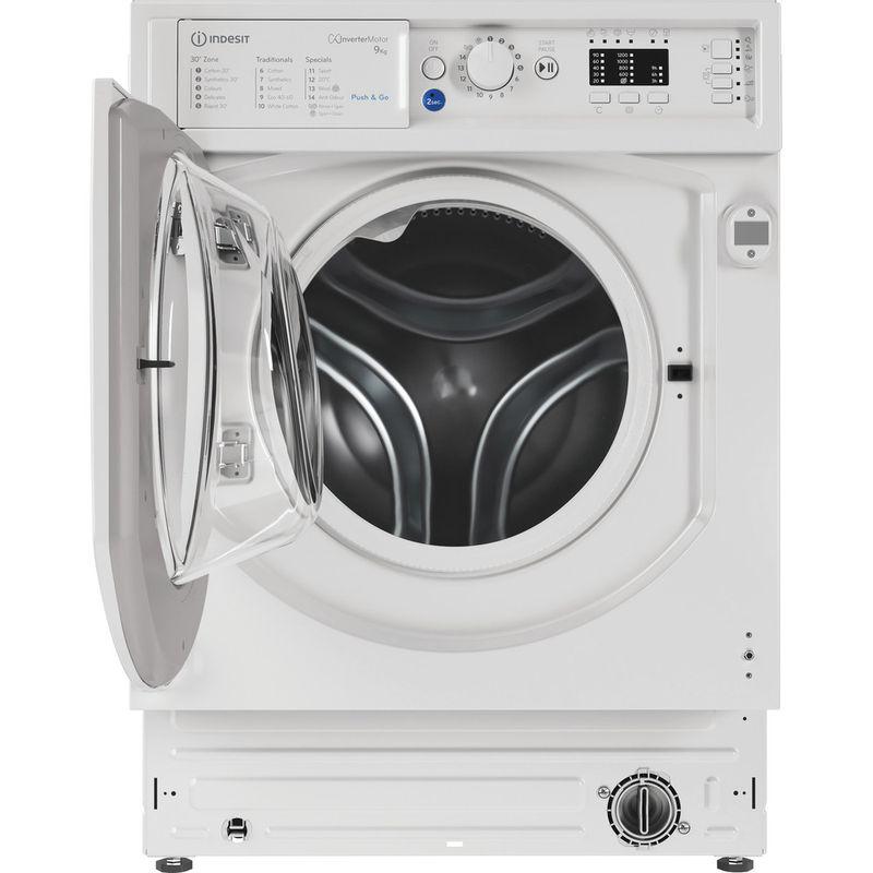 Indesit-Washing-machine-Built-in-BI-WMIL-91484-UK-White-Front-loader-C-Frontal-open
