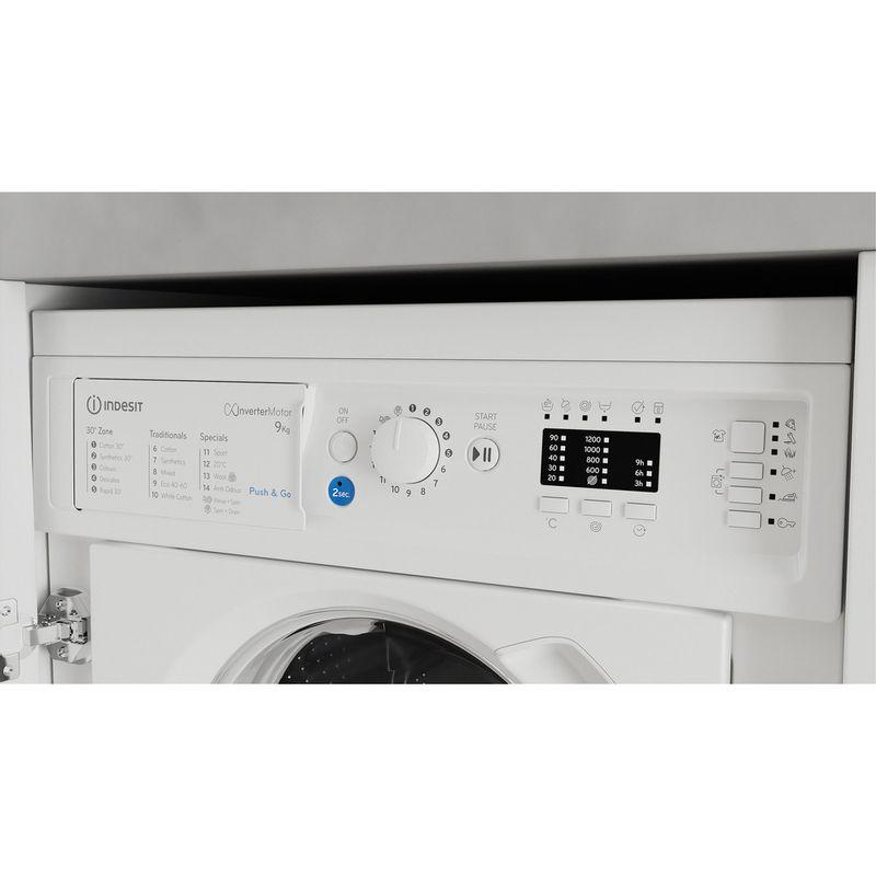 Indesit-Washing-machine-Built-in-BI-WMIL-91484-UK-White-Front-loader-C-Control-panel