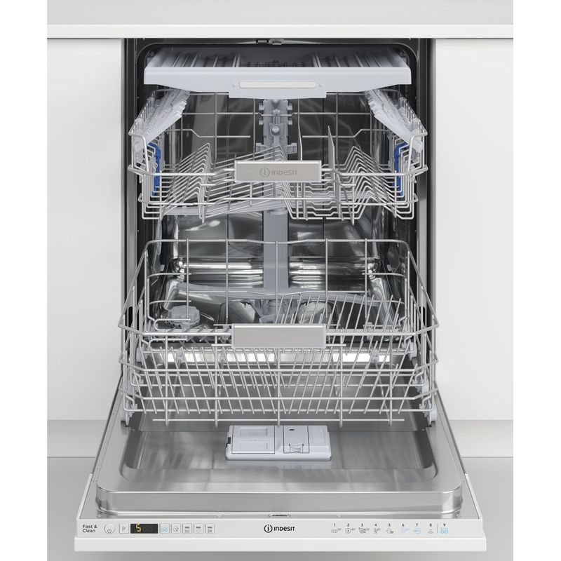 Indesit-Dishwasher-Built-in-DIO-3T131-FE-UK-Full-integrated-D-Lifestyle-frontal-open