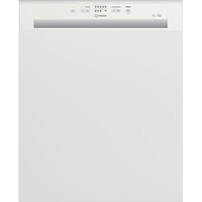Indesit-Dishwasher-Built-in-DBE-2B19-UK-Half-integrated-F-Frontal