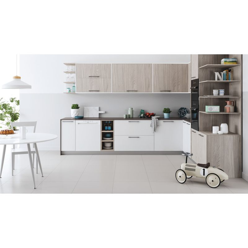 Indesit-Dishwasher-Built-in-DBE-2B19-UK-Half-integrated-F-Lifestyle-frontal
