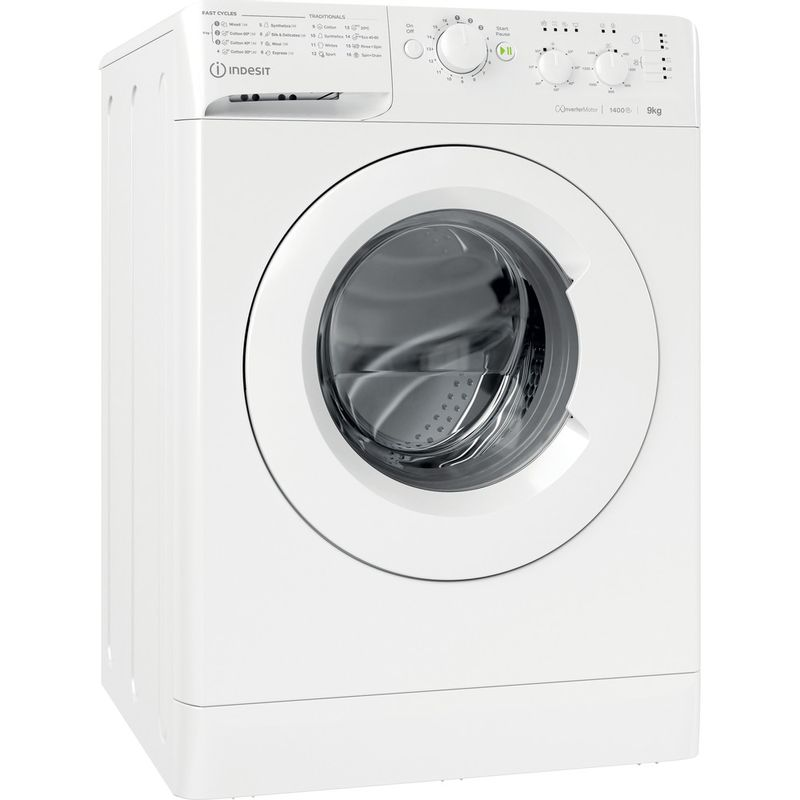 Indesit-Washing-machine-Free-standing-MTWC-91483-W-UK-White-Front-loader-D-Perspective