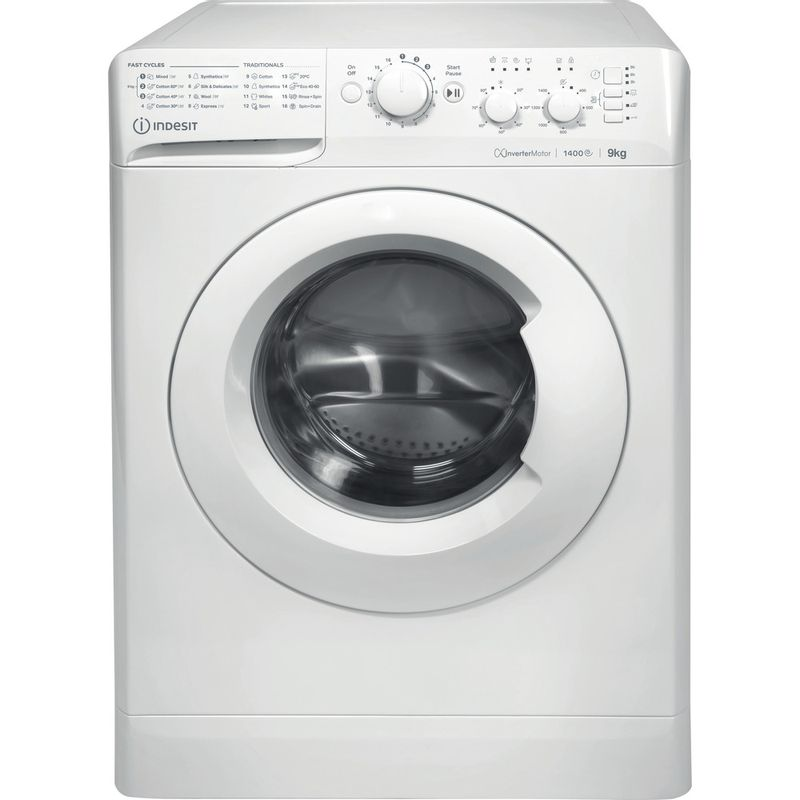 Indesit-Washing-machine-Free-standing-MTWC-91483-W-UK-White-Front-loader-D-Frontal