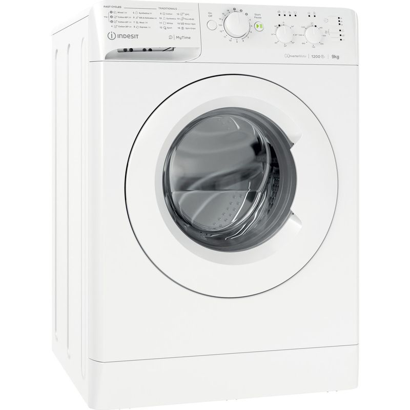 Indesit-Washing-machine-Free-standing-MTWC-91283-W-UK-White-Front-loader-D-Perspective