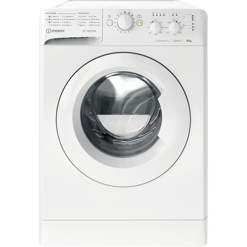 Indesit-Washing-machine-Free-standing-MTWC-91283-W-UK-White-Front-loader-D-Frontal
