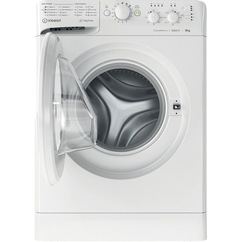 Indesit-Washing-machine-Free-standing-MTWC-91283-W-UK-White-Front-loader-D-Frontal-open