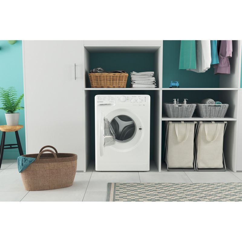 Indesit-Washing-machine-Free-standing-MTWC-91283-W-UK-White-Front-loader-D-Lifestyle-frontal-open