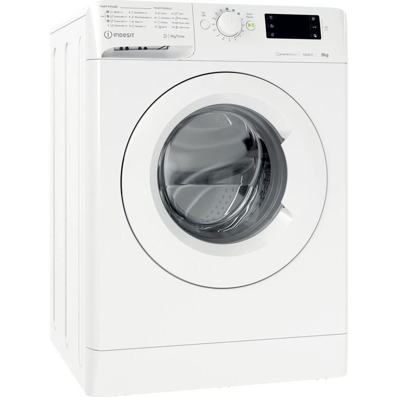 Indesit-Washing-machine-Free-standing-MTWE-91483-W-UK-White-Front-loader-D-Perspective