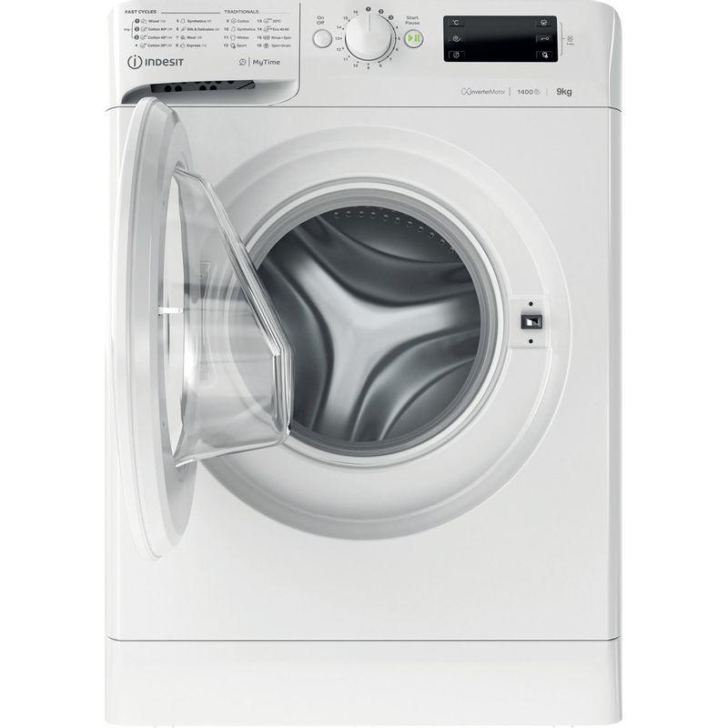 Indesit-Washing-machine-Free-standing-MTWE-91483-W-UK-White-Front-loader-D-Frontal-open