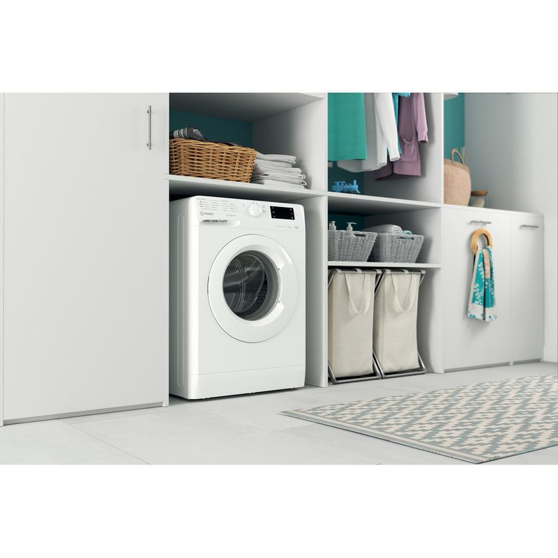 Indesit-Washing-machine-Free-standing-MTWE-91483-W-UK-White-Front-loader-D-Lifestyle-perspective