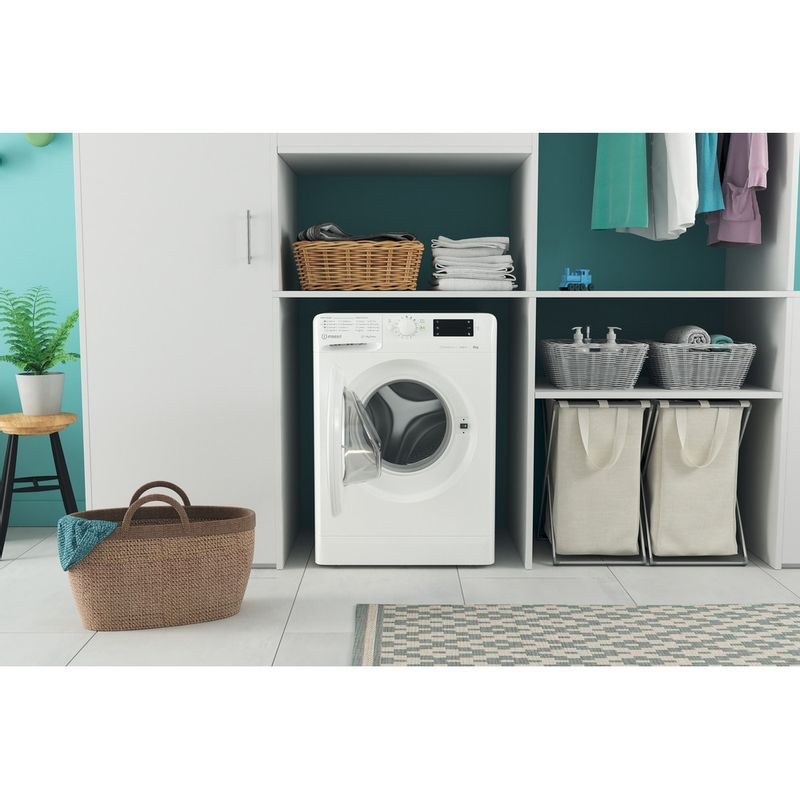 Indesit-Washing-machine-Free-standing-MTWE-91483-W-UK-White-Front-loader-D-Lifestyle-frontal-open