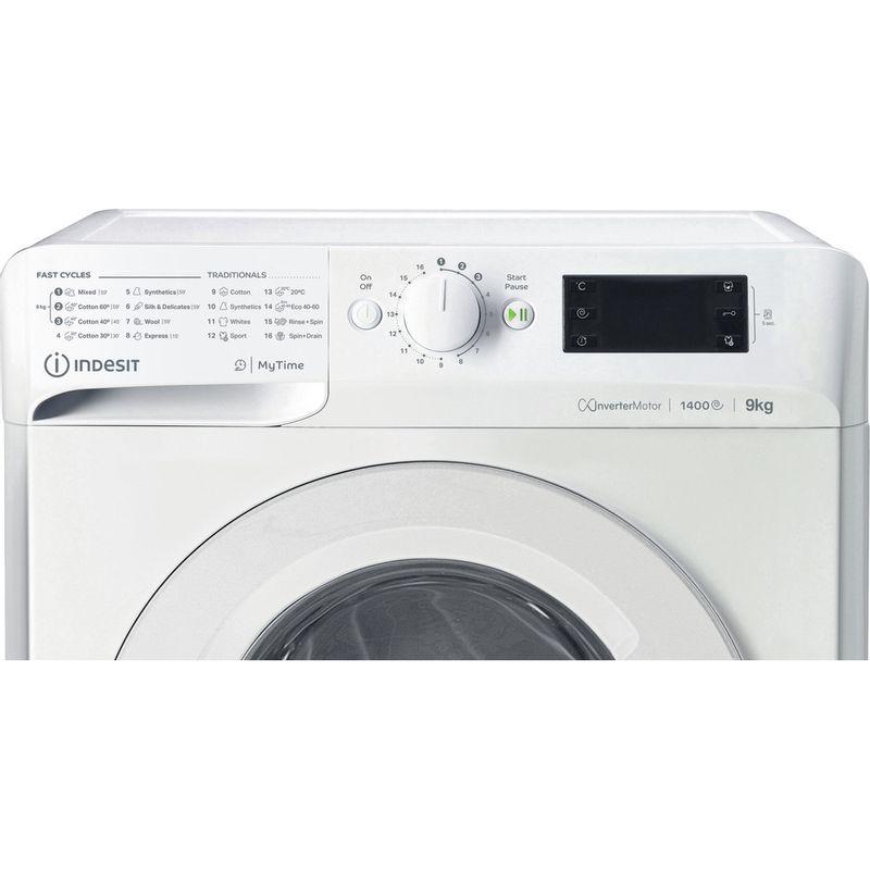 Indesit-Washing-machine-Free-standing-MTWE-91483-W-UK-White-Front-loader-D-Control-panel