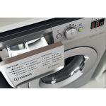 Indesit-Washing-machine-Free-standing-MTWA-81483-S-UK-Silver-Front-loader-D-Drawer