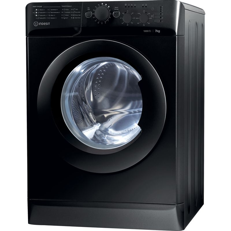 Indesit-Washing-machine-Free-standing-MTWC-71252-K-UK-Black-Front-loader-E-Perspective