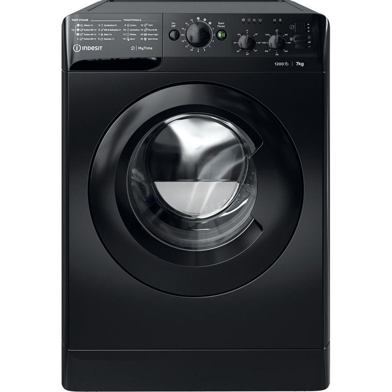 Indesit-Washing-machine-Free-standing-MTWC-71252-K-UK-Black-Front-loader-E-Frontal