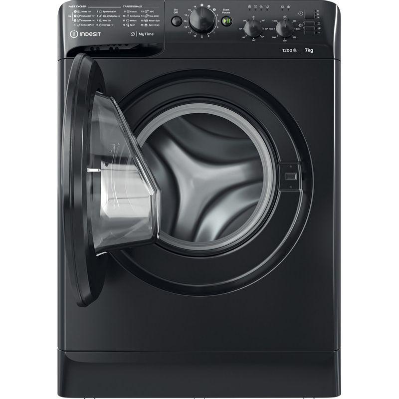 Indesit-Washing-machine-Free-standing-MTWC-71252-K-UK-Black-Front-loader-E-Frontal-open