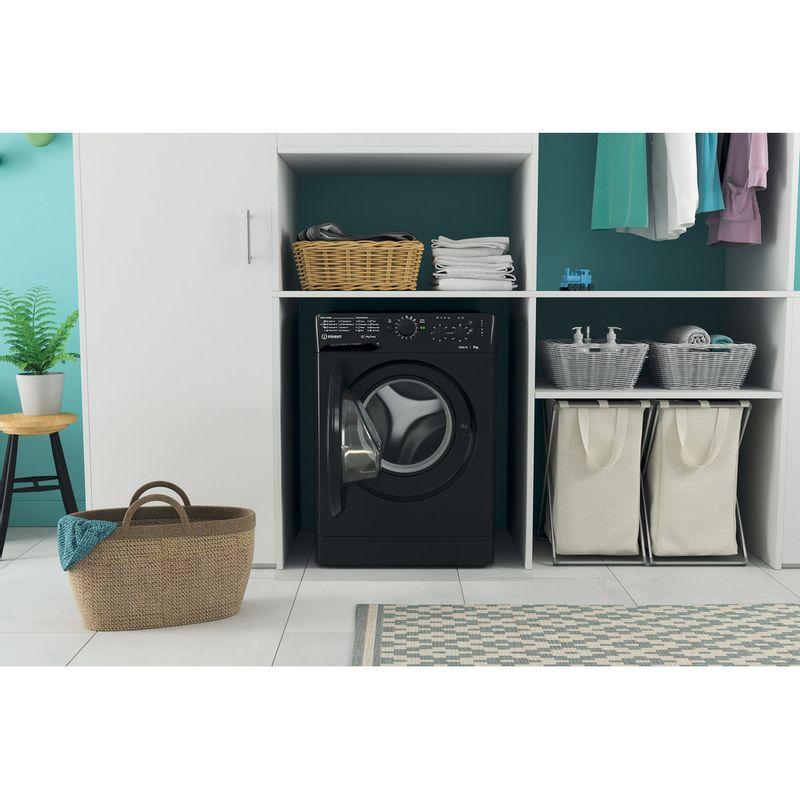 Indesit-Washing-machine-Free-standing-MTWC-71252-K-UK-Black-Front-loader-E-Lifestyle-frontal-open